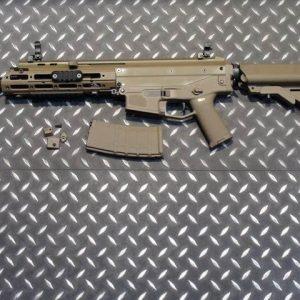 WE ACR 一刀流 MASADA AEG 電動槍 長槍 短版 海豹托 沙色 WE-ACR-AEGS-AS