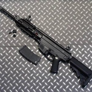 WE ACR 一刀流 MASADA AEG 電動槍 長槍 長版 海豹托 黑色 WE-ACR-AEGS-B