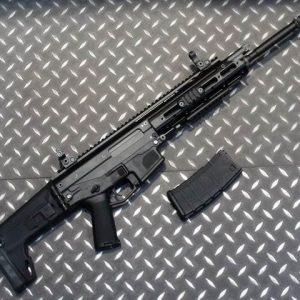 WE ACR 一刀流 MASADA AEG 電動槍 長槍 長版 折疊托 黑色 WE-ACR-AEG-B