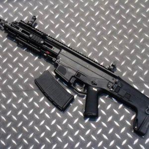 WE ACR 一刀流 MASADA AEG 電動槍 長槍 短版 折疊托 黑色 WE-ACR-AEG-BS