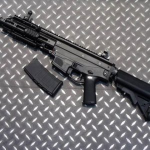 WE ACR 一刀流 MASADA AEG 電動槍 長槍 短版 海豹托 黑色 WE-ACR-AEGS-BS