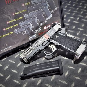 WE 原力 3.8 BABY HI-CAPA 迅猛龍 單發 GBB 瓦斯手槍 銀色 WE-38C-BSS