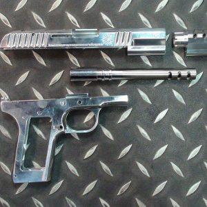 NO-13 WE TT-33 鋼製外槍管 鋁合金滑套下槍身 黑星 托卡列夫 13-WE-TT33