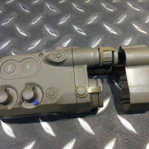復刻 AN/PEQ-16 電池盒 MARUI battery case 沙色下標區 WIIA01 A
