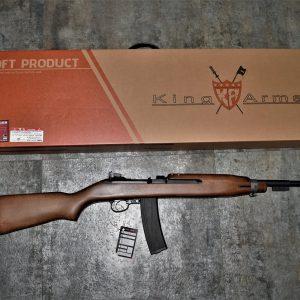 King Arms M2 Carbine 瓦斯槍 GBB 實木 卡賓槍 步槍 二戰 KA-M1A1-GBB