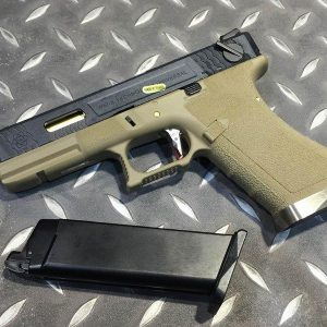 WE GLOCK WET G18C GBB 原力 烙印戰鬥版 WE-G18-BGD