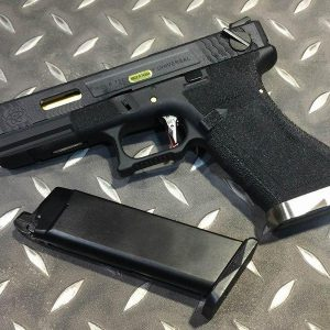 WE GLOCK WET G18C GBB 原力 烙印戰鬥版 WE-G18-BGB
