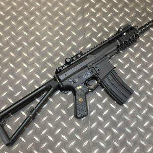 WE KAC PDW 長版 L 10吋 摺疊 快扣 電動槍 AEG 黑色 WE-PDWL-B