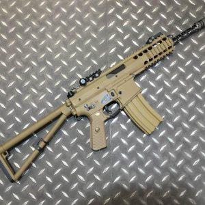 WE KAC PDW 長版 L 10吋 摺疊 快扣 電動槍 AEG 沙色 WE-PDWL-A