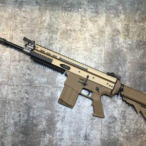 WE SCAR SCAR-H MK17 GBB 瓦斯槍 海豹托 沙色 WE-B-SCARH-A