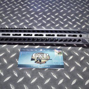 G&P EMG SI風格 CNC 15.5吋 M-Lok 金屬護木 上魚骨 黑色 GP-SI011L