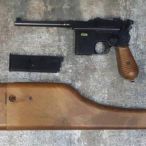 WE M712 GBB 盒子砲 盒子炮 單連發 全金屬 瓦斯槍 WE-M712