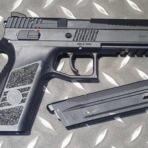 KJ CZ P-09 DUTY GBB 逆14牙 戰術版 半金屬瓦斯槍 黑色 KJ-CZ P09