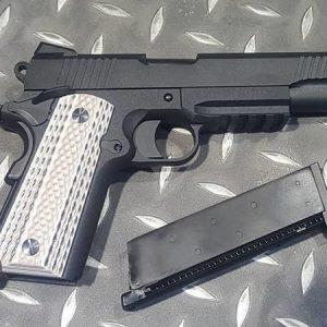 WE M45A1 1911 GBB 瓦斯槍 手槍 黑色 WE-M45A1-BK