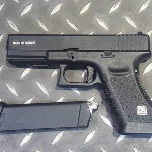 KJ G17 KP-17 GBB 半金屬 瓦斯槍 黑色 KJ-KP17
