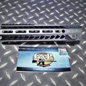 G&P EMG SI風格 CNC 10吋 M-Lok 金屬護木 上魚骨 黑色 GP-SI011S