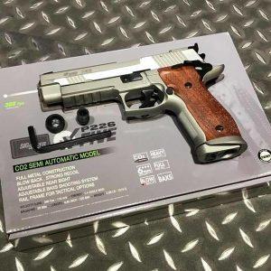 CyberGun X-FIVE SIG P226 CO2 全金屬手槍 授權刻字 CBG-SIG226