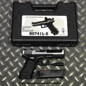 Bell ZEV G17 CNC 可裝瞄具 瓦斯手槍 附槍盒 BELL-741L-5
