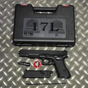 Bell G17L 瓦斯手槍 GLOCK 風格 附槍盒 BELL-764