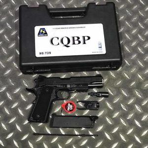 Bell M45A1 M1911 全金屬 瓦斯手槍 附槍盒 BELL-739