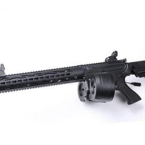 SRC ST 黑曼巴 MAMBA 軍刀版 運動升級版電動槍 彈鼓版 6mm BOX GE-1605