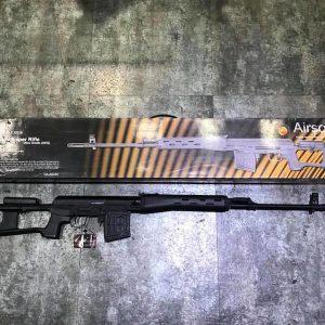 King Arms SVD Sniper Rifle 電動狙擊槍 KA-AG-64
