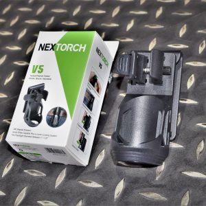 NEXTORCH 納拓 V5 腰掛模組 TA30 戰術快拔電筒套 360度旋轉帶鎖定功能 NEX-V5