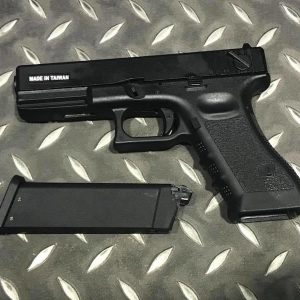 KJ G18C KP-18 GBB 單連發版 半金屬 瓦斯槍 手槍 黑色 KJGSKP18B