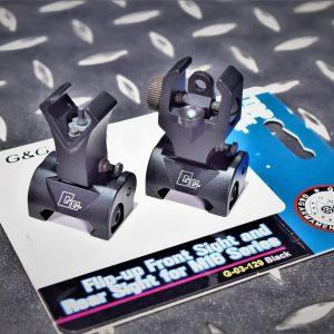 G&G 怪怪 20mm 折疊式 準心 準星 照門 鐵瞄 機械瞄具 G-03-129