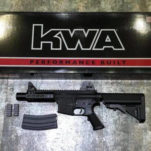 KWA KR5 M4 CQB AEG KeyMod 魚骨 海豹托 全金屬電動槍 KWA-KR5