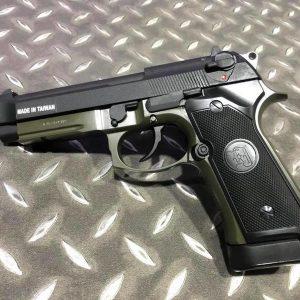 KJ M9A1 GBB 魚骨版 全金屬 瓦斯手槍 綠色 KJ-M9A1-GN