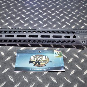 G&P EMG SI風格 CNC 13.5吋 M-Lok 金屬護木 上魚骨 黑色 GP-SI011M