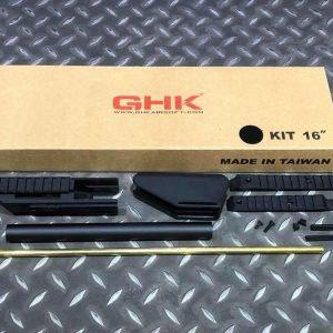 GHK G5 GBB 16吋 步槍升級套件 黑色 GHK-G5-KIT16BK