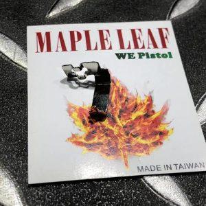 楓葉精密 Maple Leaf GBB 瓦斯手槍 HOP座 精密下壓鋼片 WE GBB  M-0-2