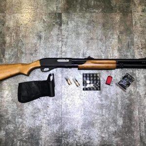 APS CAM MKII M870 M 瓦斯散彈槍 霰彈槍 黑色 木拖 APS-CAM-MKII-M