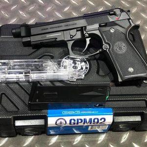 G&G 怪怪 GPM92 M9A1 GBB 全金屬瓦斯手槍 附專用收藏盒 手槍填彈器 GG-GPM92