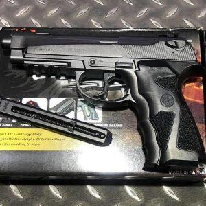 WG SPORT 306 全金屬 CO2手槍 直壓槍 6MM 黑色 WG-306BK-CO2