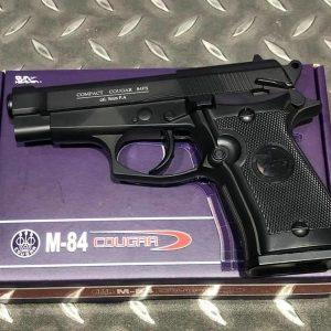 WG M84 301 貝瑞塔 92 全金屬 CO2直壓槍 黑色 WG-M84BK-CO2