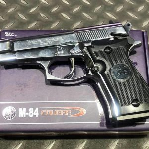 WG M84 301 貝瑞塔 92 全金屬 CO2直壓槍 銀色 WG-M84SV-CO2