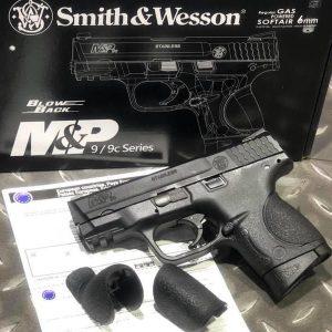 Cybergun 授權小嘴鳥 Smith & Wesson M&P9c GBB VFC 瓦斯手槍 單連發 CBG-MP9