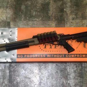 Golden Eagle M870 金鷹 三發型泵動式 瓦斯 霰彈槍 沙色 GOL-M8873-TAN