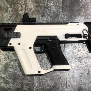 SRU SR-PDW-K 克拉克 犢牛衝鋒套件G17 G18C G34 G35 伸縮托 攻擊頭 白色