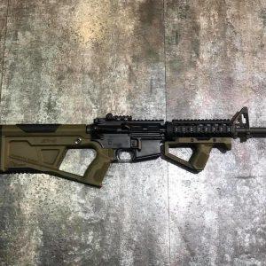 SRU SR-Q AR M4 HK416A5 HK416D犢牛套件 戰術握把+槍托組 黑/沙/綠3色可選
