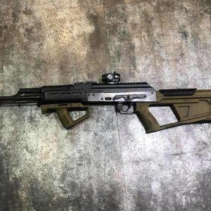 SRU SR-Q AK 犢牛式套件 戰術握把+槍托組 黑/沙/綠3色可選