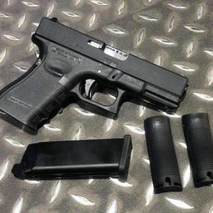 WE G19 GEN4 GBB 金屬滑套 瓦斯手槍 B版 黑色 WE-G19-B