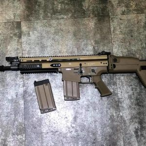 謎版 MK17 SCAR-H GBB VFC 系統 MK17刻印 一槍兩匣 gen2  VFC-MK17-DE