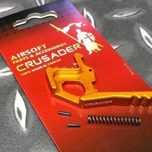 十字軍CRUSADER – AR/M4 雙邊槍機拉柄鉤 金色 CR-GM01-0012_GD