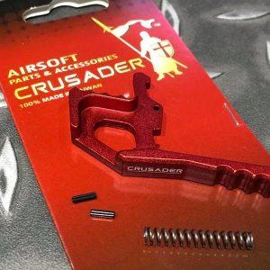 十字軍CRUSADER – AR/M4 雙邊槍機拉柄鉤 紅色 CR-GM01-0012_RD