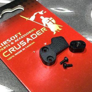 十字軍CRUSADER – 競技用加大彈匣釋放鈕 VFC M4 GBB用 CR-VF21-0013_BK
