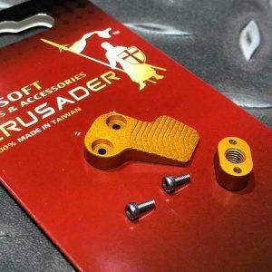 十字軍CRUSADER – 競技用加大彈匣釋放鈕 VFC M4 GBB用 CR-VF21-0013_GD